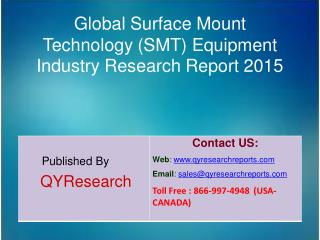 Global Surface Mount Technology (SMT) Equipment Market 2015 Industry Trends, Analysis, Development, Shares, Forecasts an