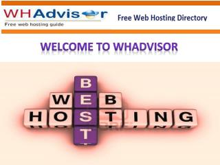 Free Web Hosting Directory