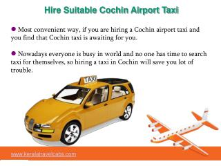 Smart performance of Cochin Airport Taxi