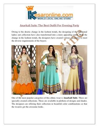 Anarkali Suits Online UK | Designer Anarkali Suits