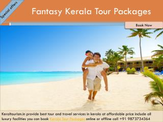 Fantasy Kerala Tour Packages