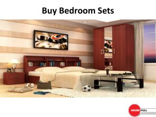 Buy Bedroom Furniture Set online in India at Housefull.co.in