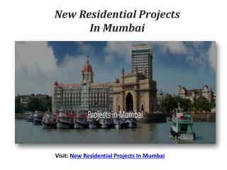 New Residential Projects Mumbai