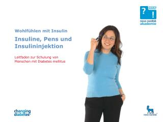 Insulin und Insulin-Injektion