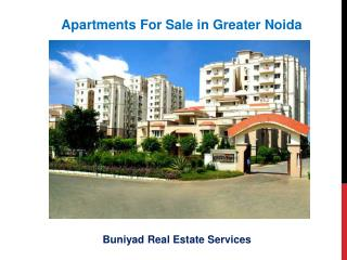Flats for Sale in Greater Noida