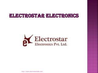 Cfl light manufacturers in noida: Electrostar Electronics