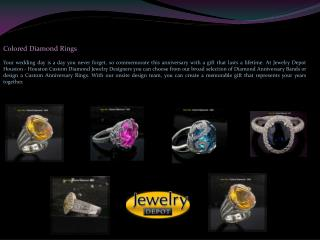 Colored Diamond Rings Houston | Diamond Rings Houston