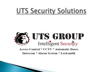 UTS Security Solutions - www.utssecuritysolutions.ca