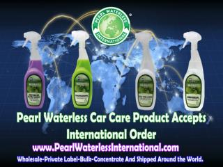 Start Your Business in Pearl Waterless Car Wash Products