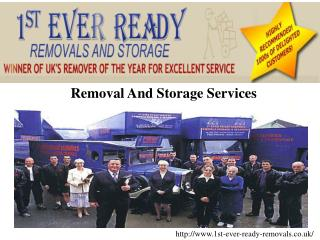 1st ever ready removals - Removal Company