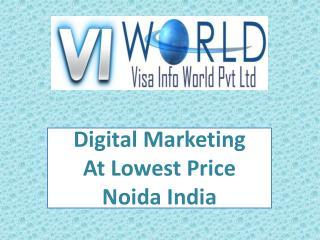 SMO company in Noida India -visainfoworld.com