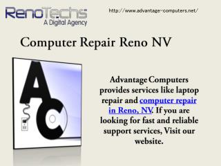 Computer Repair Reno NV