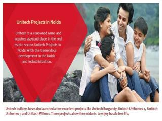 Unitech Projects in Noida @ 9266629901