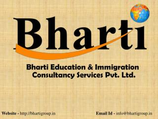 Bharti Immigration & Education Consultancy Services Pvt. Ltd Mohali Chandigarh