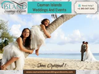 The best and reputed name in Wedding & Event Planning Services in the Cayman Islands