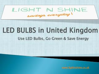 Led Bulb In United Kingdom