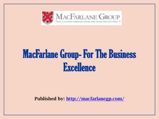 For The Business Excellence