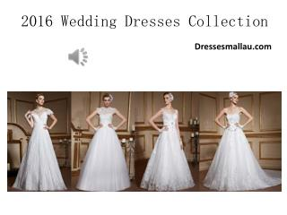 New arrival: Customized Wedding Gowns Australia 2016 By Dressesmallau.com
