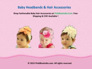 Best Baby Headbands and Hair Bows In India