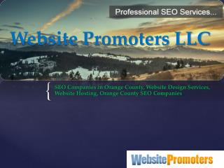 Website Design Services - www.websitepromoters.com