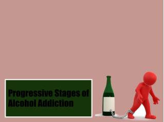 Progressive Stages of Alcohol Addiction