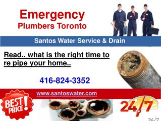 Emergency Plumbers in Toronto