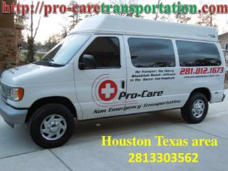 Handicap, Wheel Chair, Medical and Disability Transportation Houston, Humble TX
