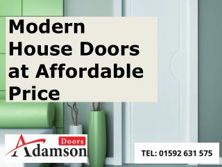 Modern House Doors at Affordable Price