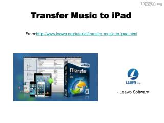 Transfer Music to iPad