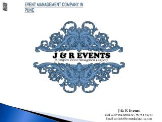 Event Management Company in Pune