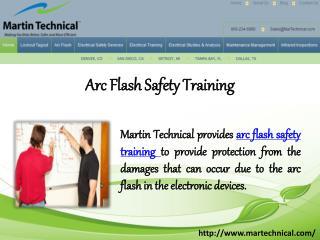 Arc Flash Safety Training