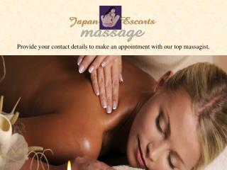 make an appointment with our top massagist in Dubai