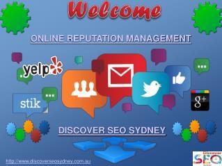 Online Reputation Management in Sydney