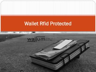 Wallet Rfid Protected