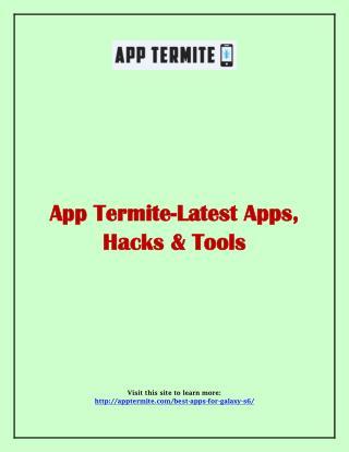 Latest Apps, Hacks & Tools