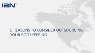 Bookkeeping Outsourcing Services, Online Accounting | IBN Technologies