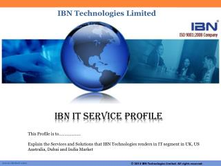 IBN Technologie is a Web Application and Mobile Application Development Company