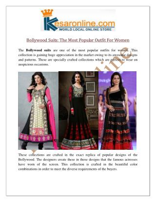 Bollywood Suits Online UK, Shop Bollywood Replica Suits