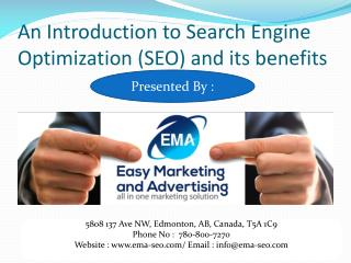 Search Engine Optimization and Its Benefits