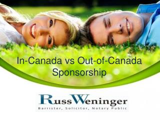 In-Canada vs Out-of-Canada Sponsorship