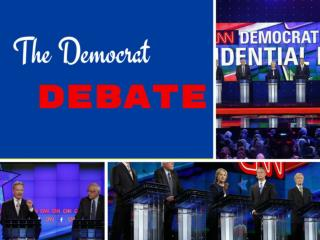 The Democrat debate