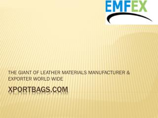 Genuine Leather Bags Wholesale