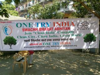 Clean India Campaign by One Try India Trust