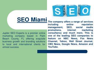 Local SEO Experts Miami