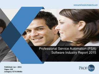 Professional Service Automation (PSA) Software Industry Report 2015