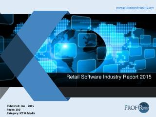 Retail Software Industry Report 2015