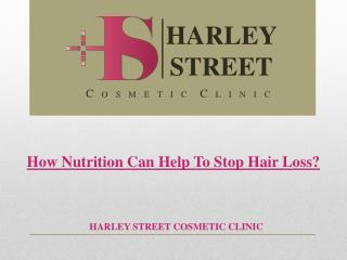 How Nutrition Can Help To Stop Hair Loss?