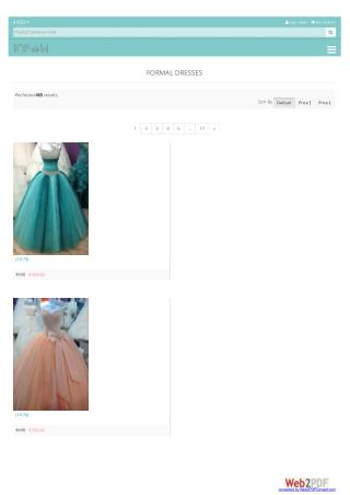 Formal dresses nz