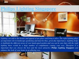 Philips LED Lighting Singapore