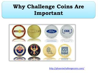 Why Challenge Coins Are Important